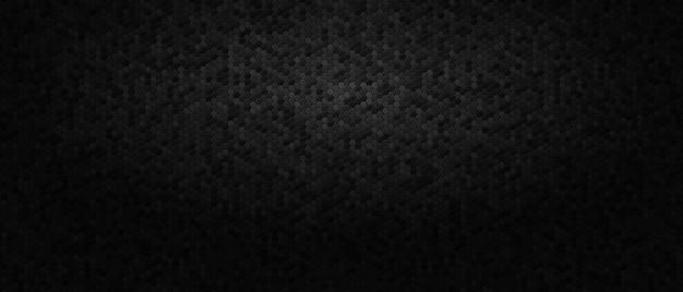Ciemne tło z sześciokątów o strukturze plastra miodu.
