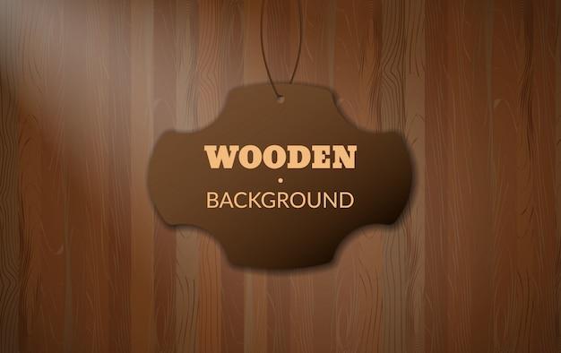 Ciemnobrązowy drewniany wzór tekstury z miejsca na kopię. stół z drewna lub ściana proste, łatwe do edycji tło