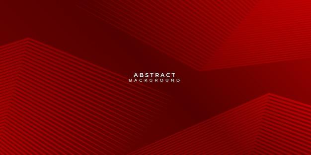 Ciemnoczerwone linie neutralne abstrakcyjne tło