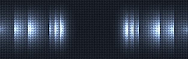 Ciemnoniebieski włókna węglowego tekstury materiału tło