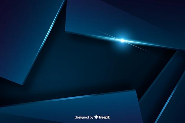Ciemnoniebieskie tło z efektem metalicznym