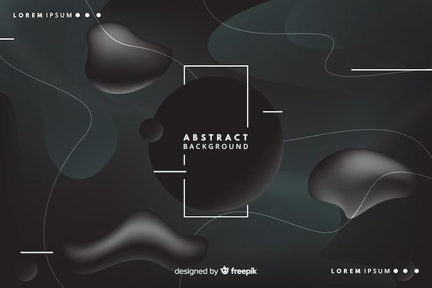 Ciemny abstrakcjonistyczny tło