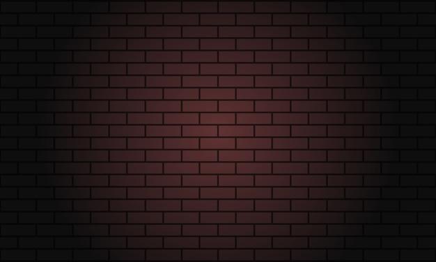 Ciemny czerwony mur z cegły tło.
