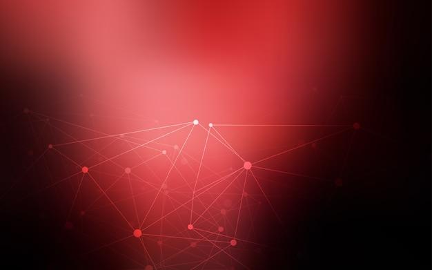 Ciemny czerwony tło z bąbelkami