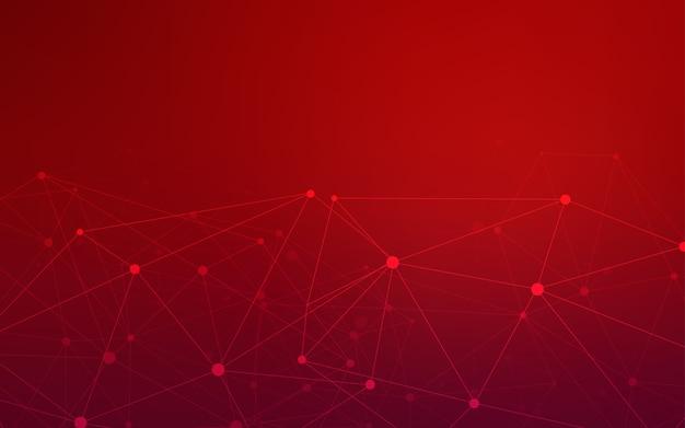 Ciemny czerwony układ wektor z okręgów