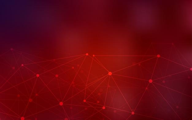 Ciemny czerwony wektor szablon z koła