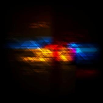 Ciemny kolorowy projekt techniczny. tło wektor