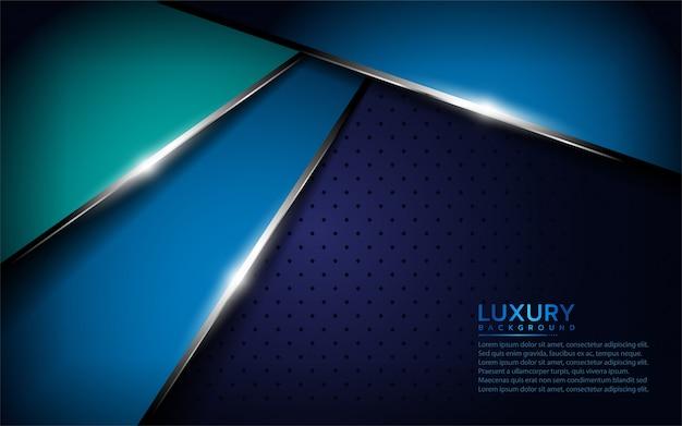Ciemny niebieski metaliczny teksturowanej tło