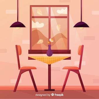 Ciepłe okno ilustracja