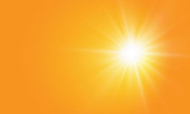 Ciepłe słońce