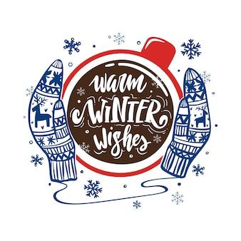 Ciepłe zimowe życzenia