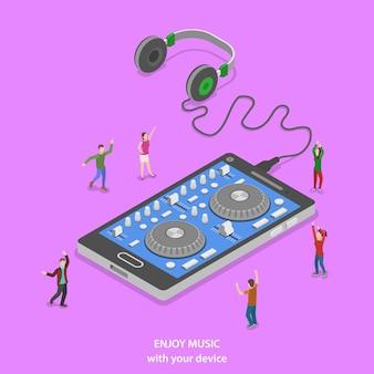 Ciesz się muzyką izometryczną