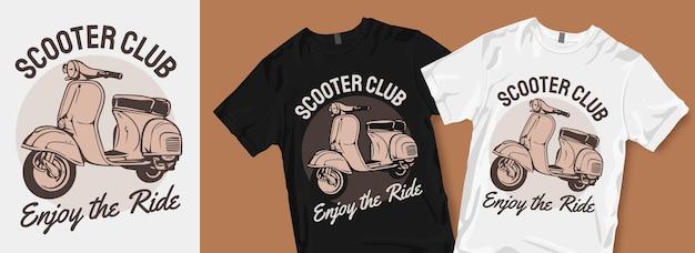 Ciesz się projektem koszulki ride