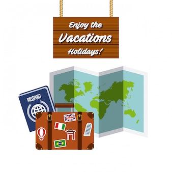 Cieszyć się wakacjami wakacje