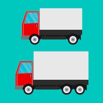 Ciężarówka dostawcza
