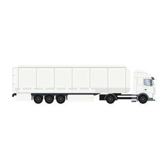 Ciężarówka z cysterną