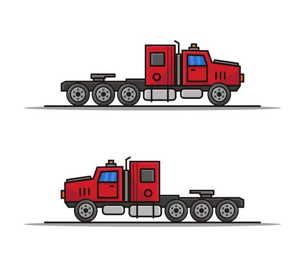Ciężarówka z kreskówek