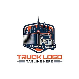 Ciężarowy loga wektoru zapasu wizerunek