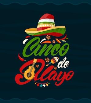 Cinco de mayo. meksykańskie wakacje