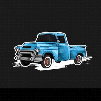 Classic car gmc 100 1955