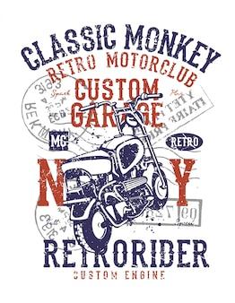 Classic monkey