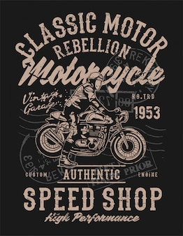 Classic motor rebellion