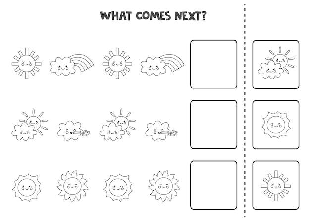 Co będzie następną grą z czarno-białymi elementami pogody.