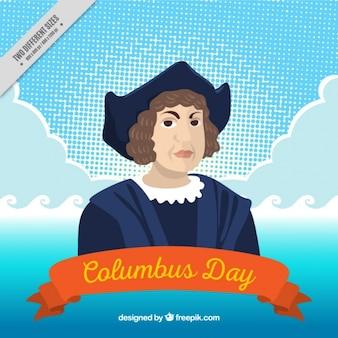 Columbus dzień tła
