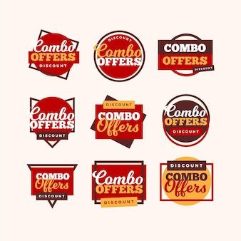 Combo oferuje etykiety