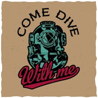 Come drive with me design na t-shirt print