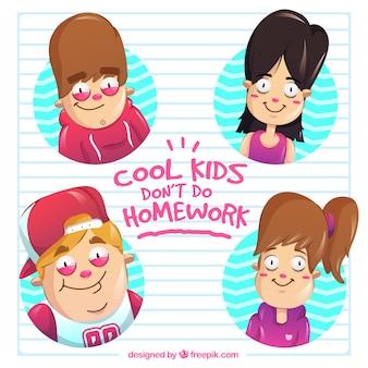Cool kids nie robić zadania domowe
