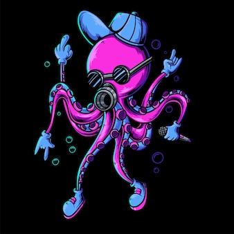 Cool octopus