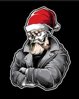 Cool santa vector