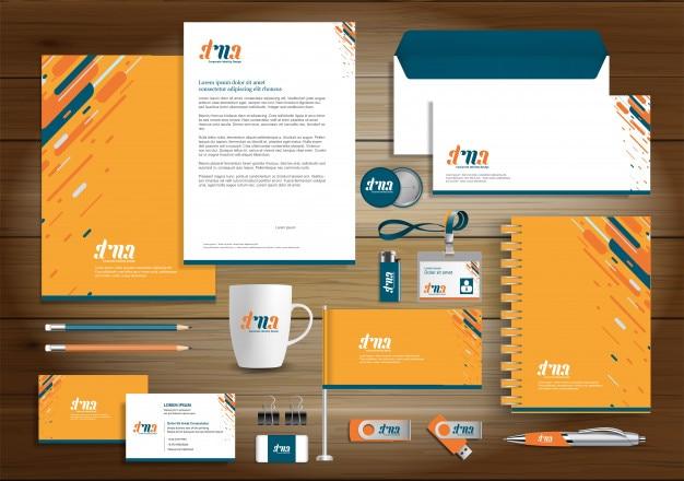 Corporate business identity szablon projektu
