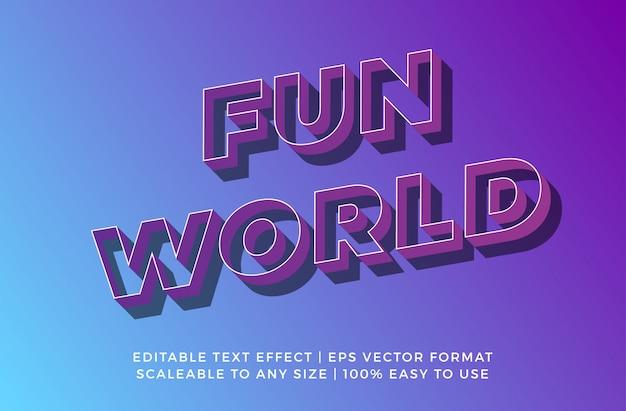 Cosmic 3d efekt promocyjny oznakowania tekstowego