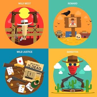 Cowboy concept set