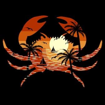 Crab beach