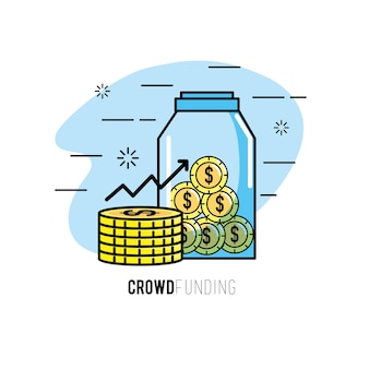 Crowndfunding finance project to support pomysłu