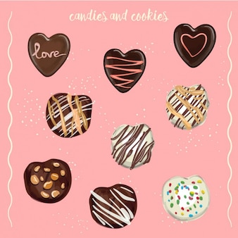 Cukierki i ciasteczka