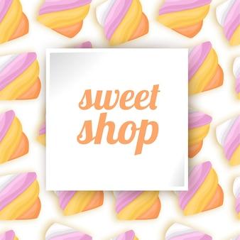 Cukierki słodki sklep