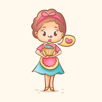 Cukierkowy kucharz