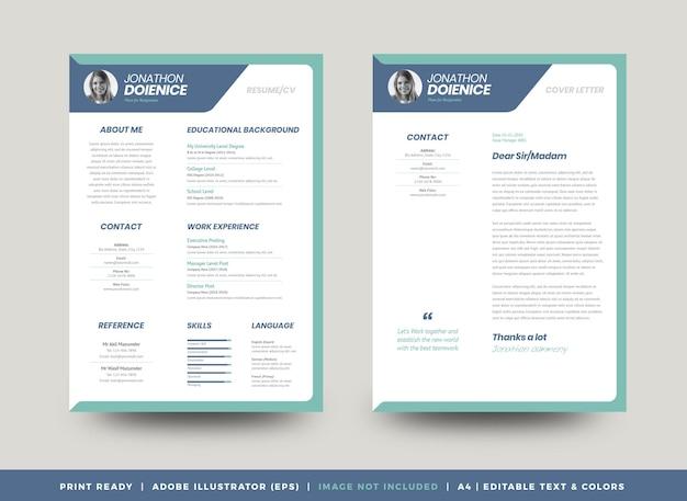 Curriculum vitae wzór cv cv lub dane osobowe do podania o pracę