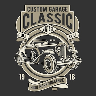 Custom garage classic