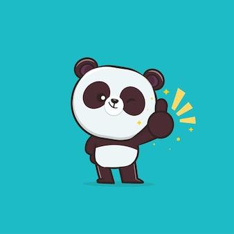 Cute animal panda