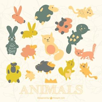 Cute animals darmo wzór