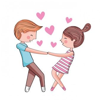 Cute cartoonillustration para