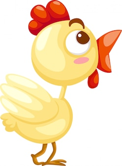 Cute kurczaka ilustracji