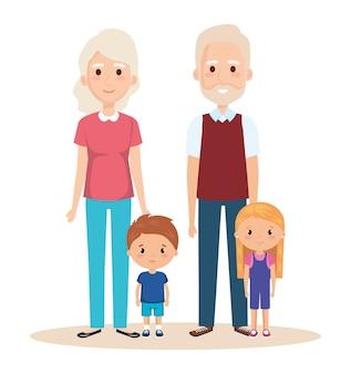 Cute para dziadków z wnukami