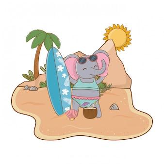 Cute zwierząt korzystających z wakacji