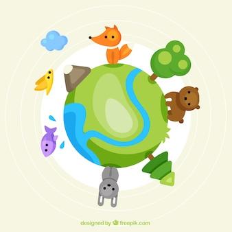 Cute zwierząt na całym świecie